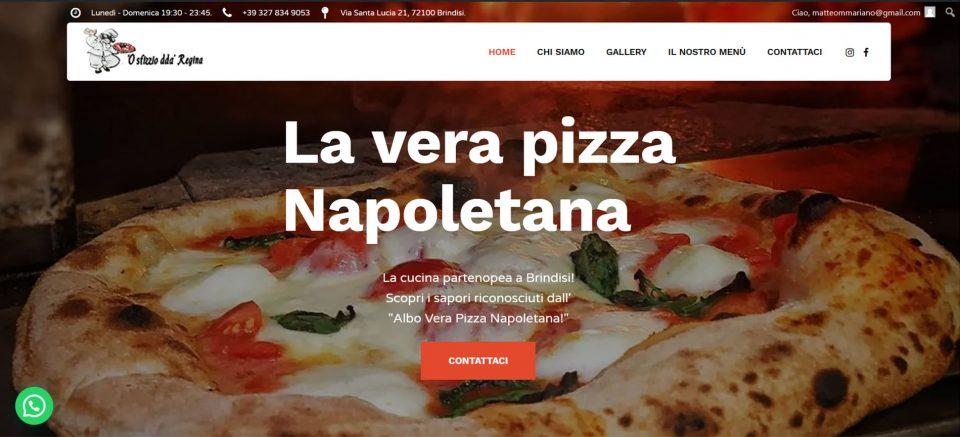 Matteo Mariano Web Designer Developer - 'O sfizzio dda' regina